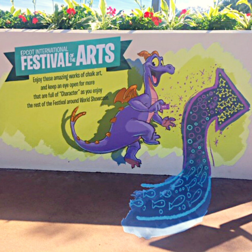 Epcot Festival Of The Arts Annual Passholder Magnet 2020 Theme Park Anthropologist